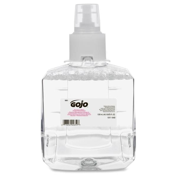GOJO Clear & Mild Foam Handwash Refill, Fragrance-Free, 1200mL Refill