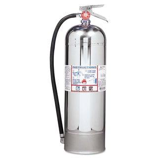 Kidde ProPlus 2.5 W H2O Fire Extinguisher, 2.5gal, 20.86lb, 2-A