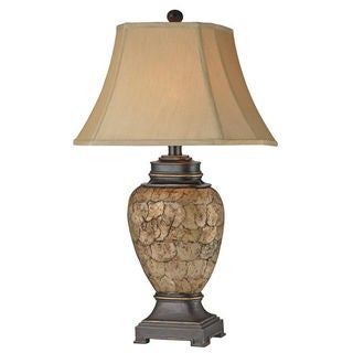 Cape Horn Urn Shell Table Lamp (Pack of 2)