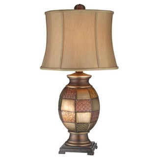 Deliah Patchwork Lamp (Pack of 2)