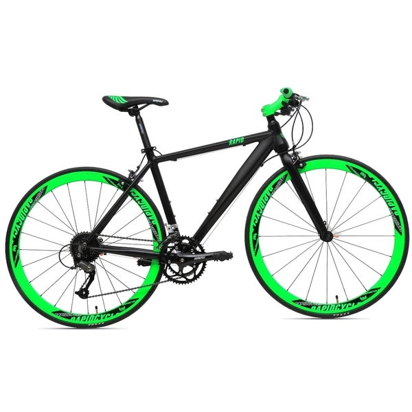 RapidCycle Vamos 18-speed Unisex Hybrid Mountain Bike (2 Size Options)