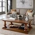 Magnussen Densbury Wood Rectangular Cocktail Table