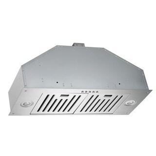 Kobe Brilllia OVS-INX2730SQB-600-40 30-inch Built-in Stainless Steel Range Hood