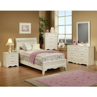 Sandberg Furniture Enchanted 6-drawer Dresser and Mirror