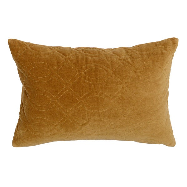 Sable Mustard Boudoir Decorative Throw Pillow