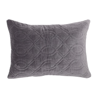 Sable Grey Boudoir Decorative Throw Pillow