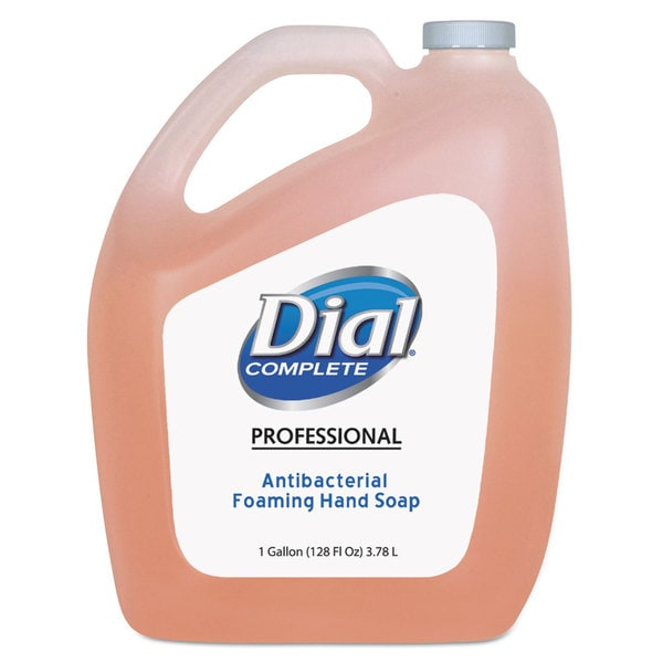 Dial Professional Antimicrobial Foaming Hand Soap, Original Scent, 1gal