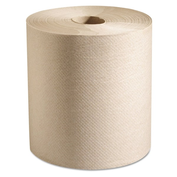 Marcal Hardwound Roll Paper Towels, 7 7/8 x 800 ft, Natural, 6 Rolls/Carton