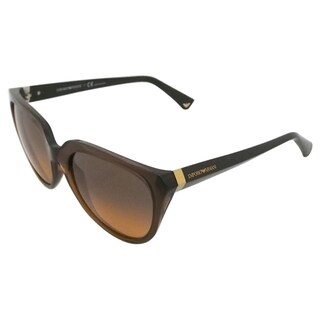 Emporio Armani Women's Transparent Sunglasses