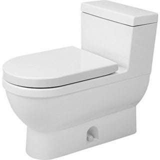Duravit One-piece Toilet Starck 3 White Sensowash with Mech Siphon Jet Elong Het/Gb White