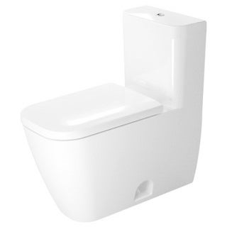 Duravit Happy D2 One-piece Toilet Us Version Toilet Syphonic 132/092 Gpf (5/35 Liters) 12-inch