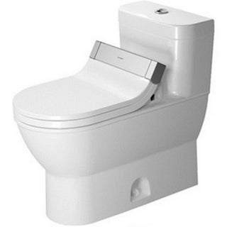 Duravit One Piece Toilet Darling New with Single Flush Piston Valve For Sensowash C Temp