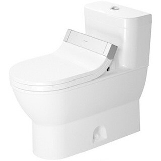 Duravit One Piece Toilet Darling New with Single Flush Piston Valve For Sensowash C Temp
