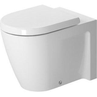 Duravit Toilet Floor Standing 57Cm Starck 2 White Horioutlet Washd Us White