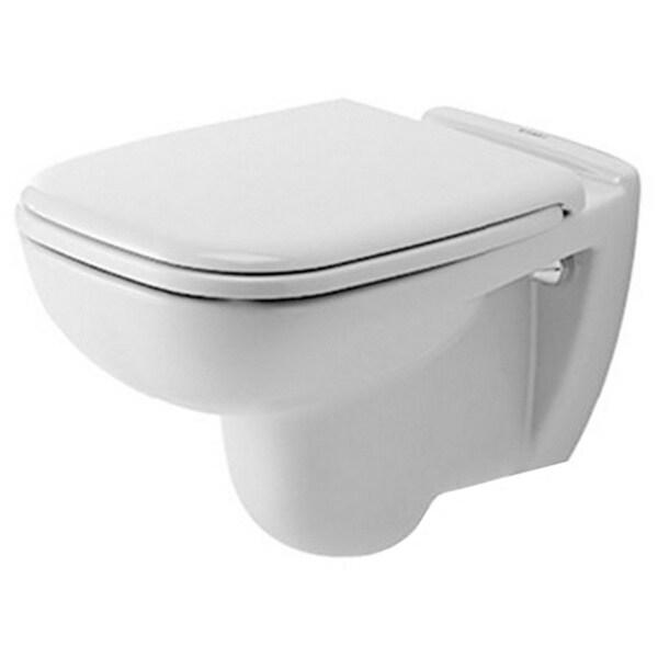 Duravit Toilet Wall-mounted 21.5-inch 54Cm D-code White Washdown Model White