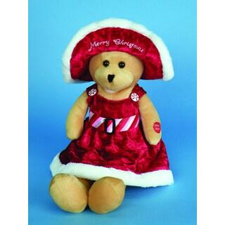 Chantilly Lane Connie Talbot Merry Christmas Bear