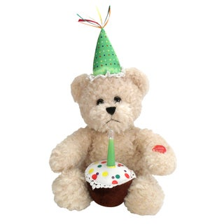 Chantilly Lane Blow Out The Candle Birthday Bear