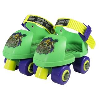 Teenage Mutant Ninja Turtles Kids Rollerskate Junior Size 6-12 with Knee Pads