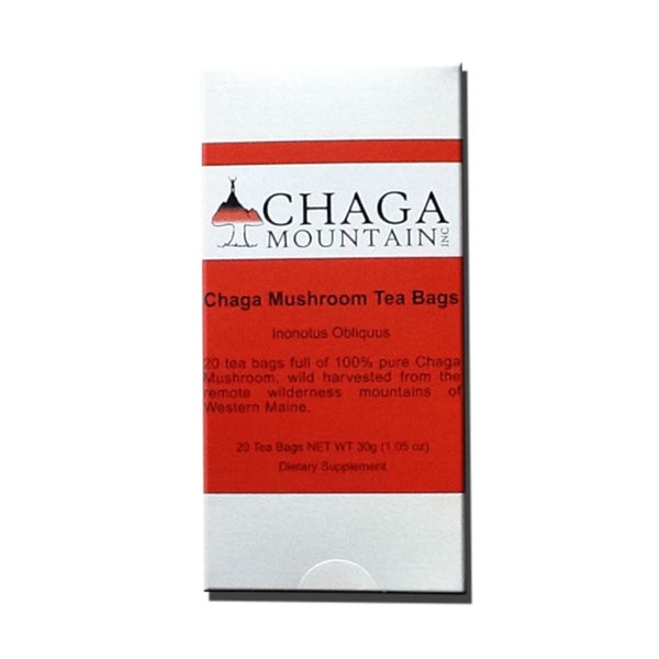 Chaga Mountain Tea Bags (20 bags)