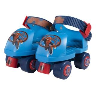 Ultimate Spider-Man Kids Rollerskate Junior Size 6-12 with Knee Pads