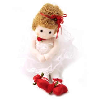 Red Shoes Storybook Collectible Musical Doll