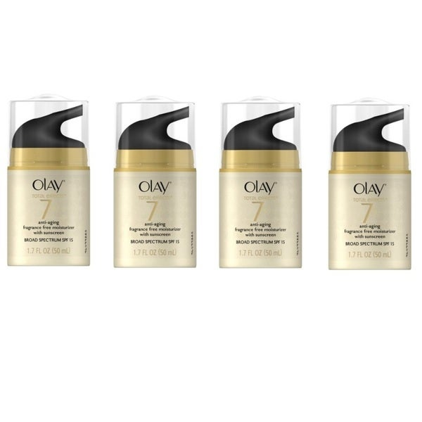 Olay Total Effects 7-in-1 Anti-aging Cream (Pack of 4)