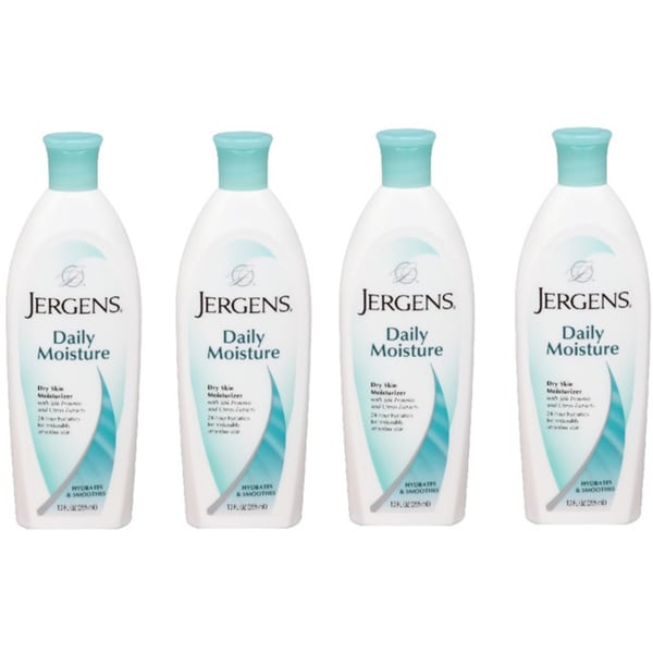 Jergens Daily Dry Skin Moisturizer 10-ounce (Pack of 4)