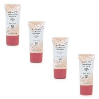 Almay Smart Shade Anti-aging Make-up Medium 300 (Pack of 4)