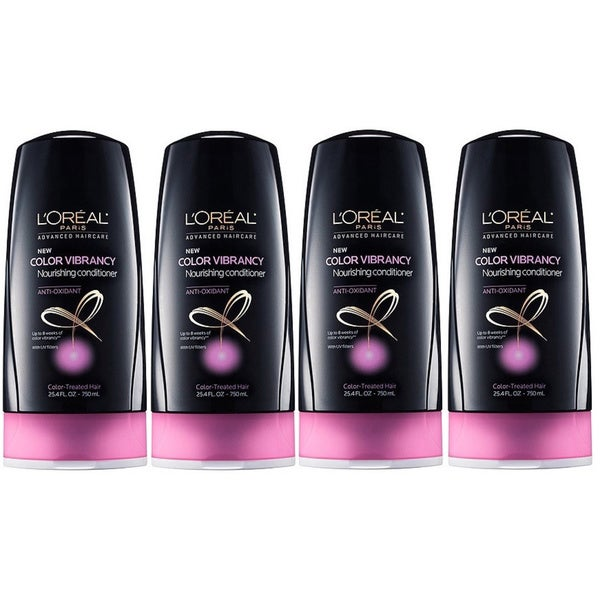Loreal Paris Antioxidant Color Vibrancy Nourishing Conditioner (Pack of 4)