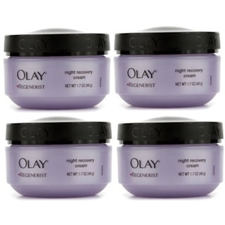 Olay Regenerist Night Recovery Cream 1.7-ounce Sealed/ Unboxed (Pack of 4)