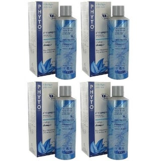 Phyto Phytoprogenium Intelligent Shampoo All Hair Types 200ml (Pack of 4)