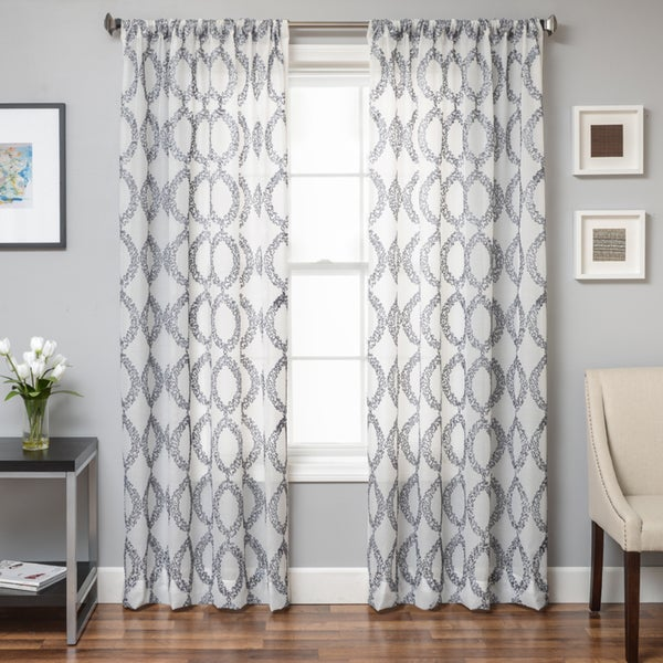 Conner Boucle Sheer Curtain Panel