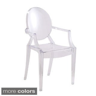 Clear Arm Chair