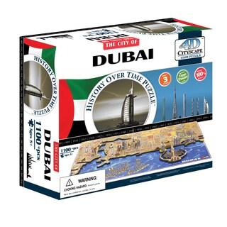 4D Cityscape Time Puzzle - Dubai, UAE