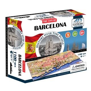 4D Cityscape Time Puzzle - Barcelona, Spain