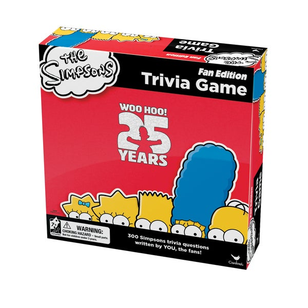 The Simpsons 25th Anniversary Trivia Game - Fan Edition