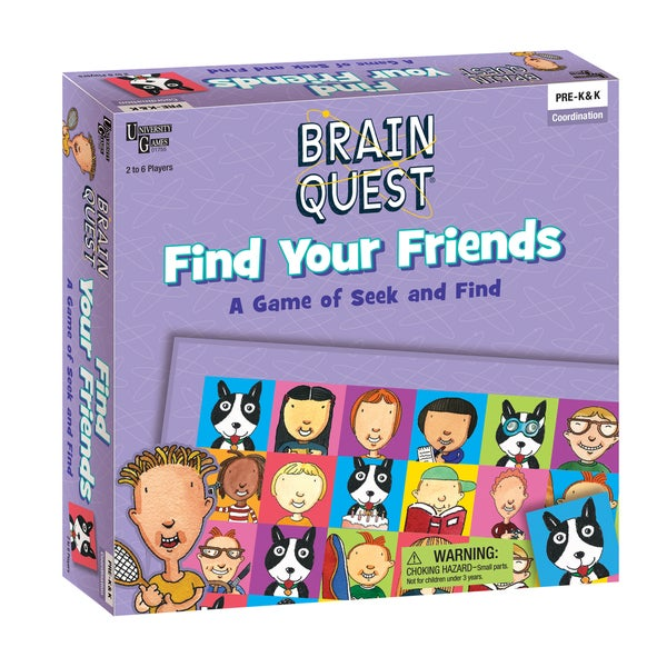Brain Quest - Find Your Friends