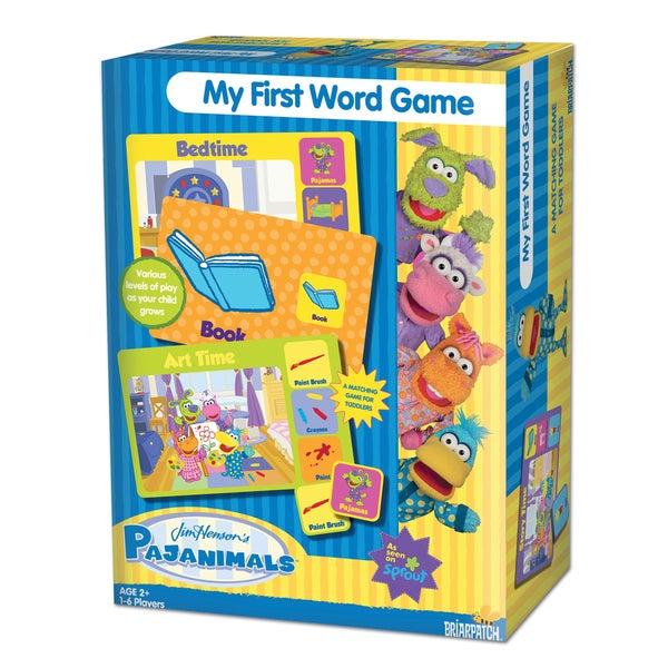 Jim Henson's Pajanimals - My First Word Game