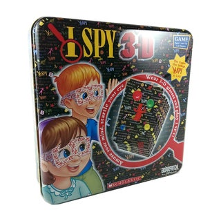 I Spy 3-D Game Tin