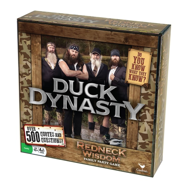 Duck Dynasty - Redneck Wisdom Family Party Game