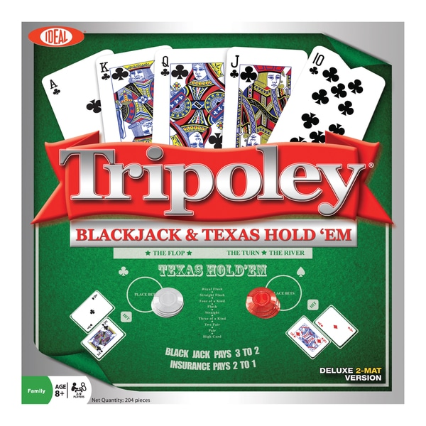 Tripoley Black Jack & Texas Hold 'Em