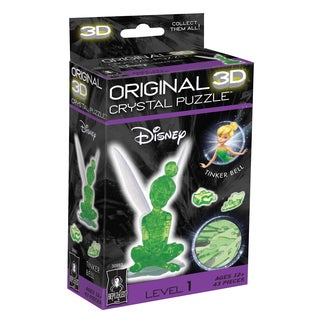 3D Crystal Puzzle - Tinker Bell: 43 Pcs