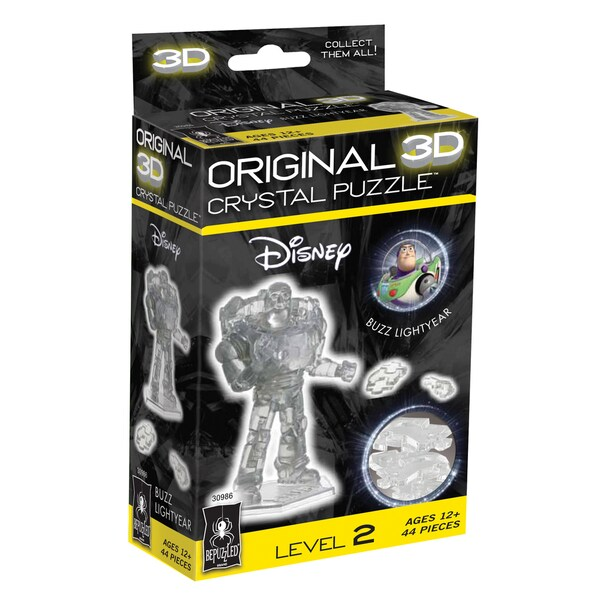 3D Crystal Puzzle - Buzz Lightyear: 44 Pcs