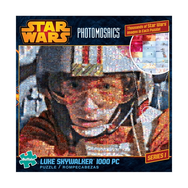 Star Wars Photomosaics - Luke Skywalker: 1000 Pcs