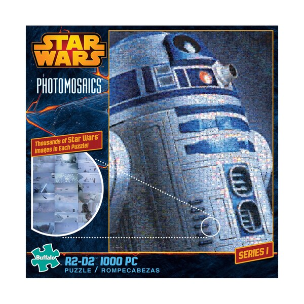 Star Wars Photomosaics - R2-D2: 1000 Pcs