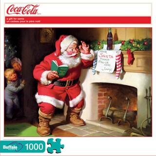 Coca-Cola A Gift for Santa Puzzle: 1000 Pcs
