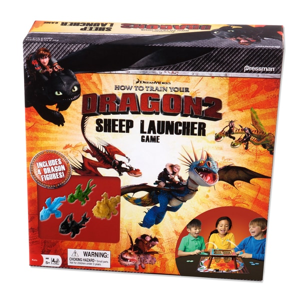 How To Train Your Dragon 2 Sheep Launcher Game