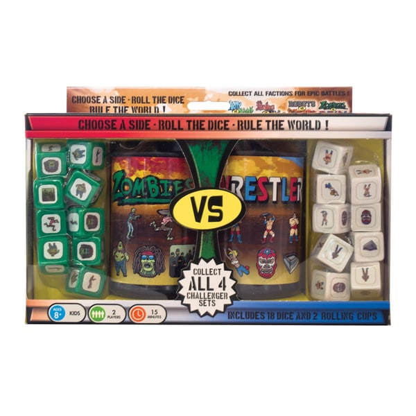 AVA Challenger Series - Set #4: Zombies vs. Wrestlers Dice Game