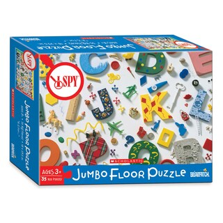 """I Spy - """"A is for..."""" Jumbo Floor Puzzle: 35 Pcs"""