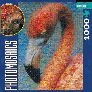 Photomosaics Jigsaw Puzzle - Flamingo: 1000 Pcs